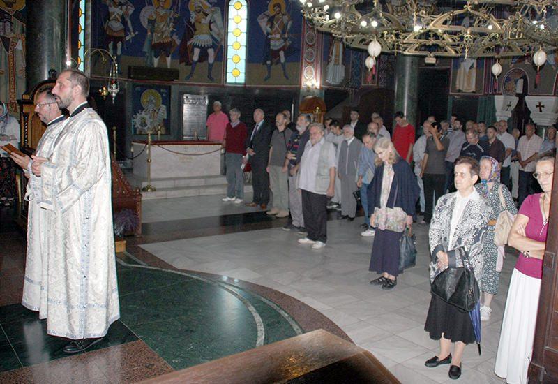 Историјска литургија: Први пут служена је литургија посвећена Светим Пребиловачким мученицима у Храму Светог Саве на Врачару