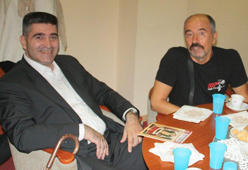 Нераздвојни пријатељи: Велиша Миљановић и Миленко Лаловић (фото: Слободна Херцеговина)