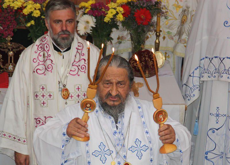 Прва литургија у Пребиловцима: Владика Атанасије и владика Григорије