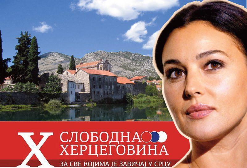 Моника Белучи купује плац за породичну кућу у Требињу