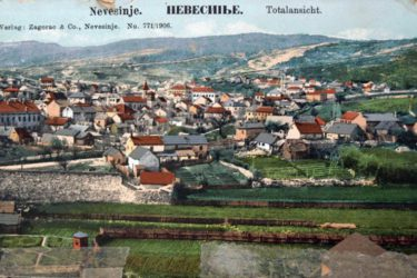 Panorama Nevesinja – 1906