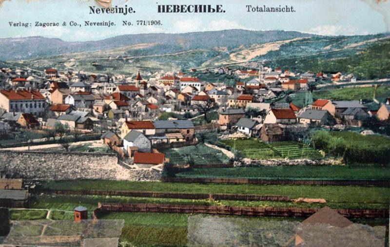 Панорама Невесиња – 1906