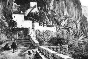 Изградња манастира Острог