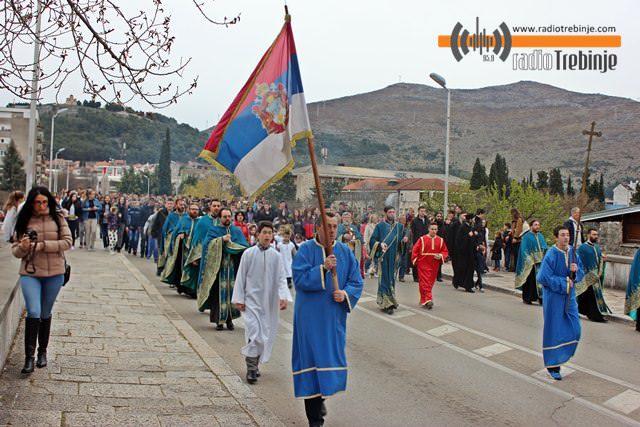 Kako je Trebinje proslavilo Vrbicu