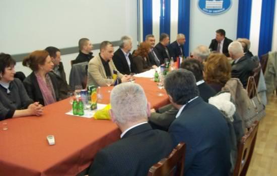 Херцеговци из Зрењанинасастали се са градоначелником Требиња