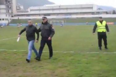 """ВИДЕО: Србин звани """"Паук"""" сам напао 300 навијача Сарајева"""