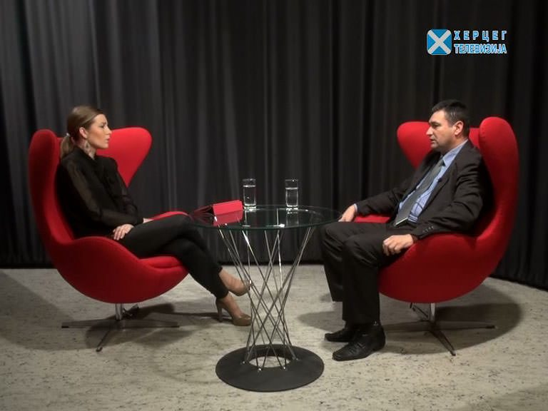 """Момчило Шиљеговић на ХЕРЦЕГ ТВ: """"Вјерујем у ХЕ Дабар"""" (ВИДЕО)"""