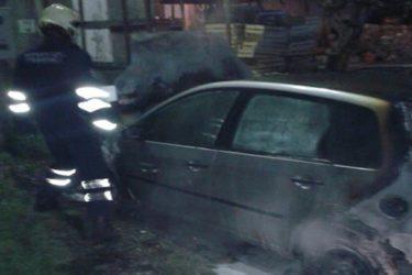 Требиње: Изгорио аутомобил Гордане Ромовић