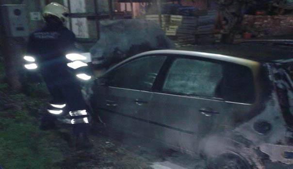 Trebinje: Izgorio automobil Gordane Romović