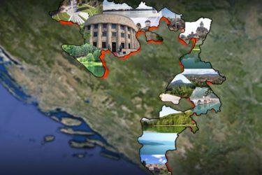 Република Српска се дијели на пет регија