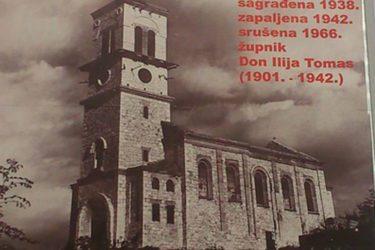 Obnavlja se katolička crkva ratnog zločinca Don Ilije Tomasa u Klepcima Svetog Vukašina