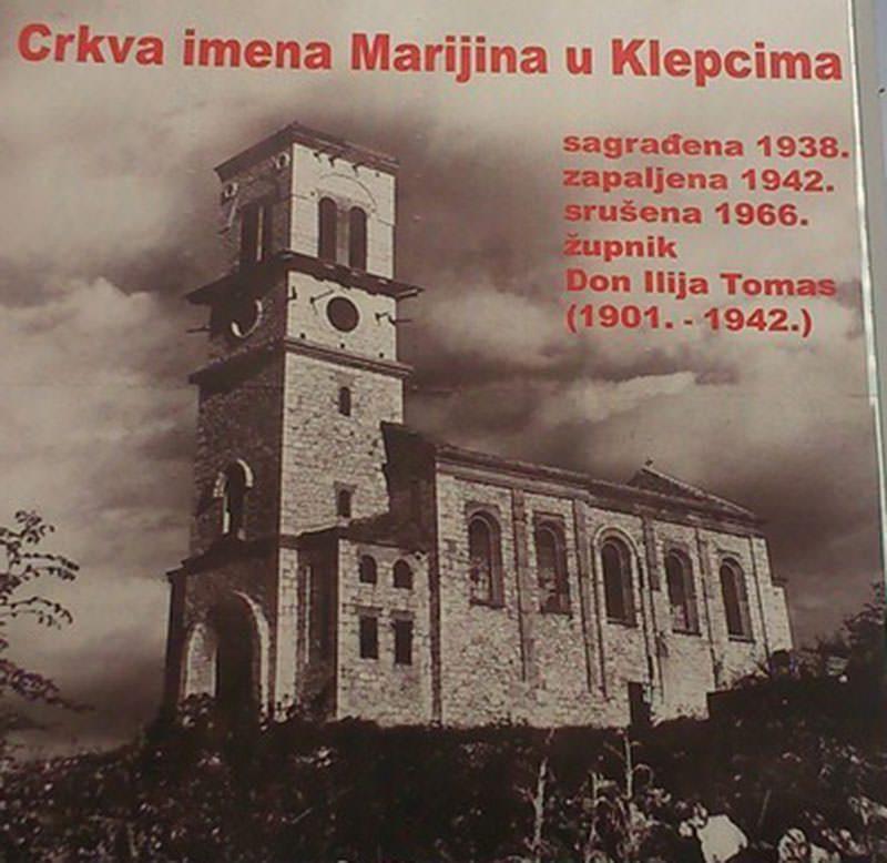 Обнавља се католичка црква ратног злочинца Дон Илије Томаса у Клепцима Светог Вукашина
