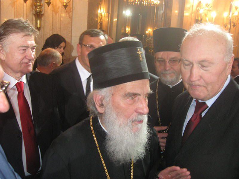 Београд, 7. мај: Састанак Патријарха Иринеја са делегацијом Херцеговаца у Србији