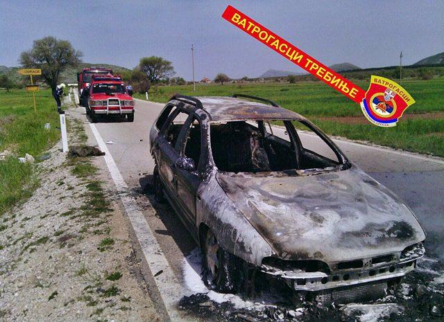 Запалио се аутомобил на Зупцима