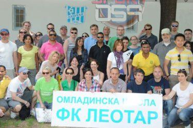 Волонтери из цијелога свијета у радној акцији за мале фудбалере Леотара (Фото)