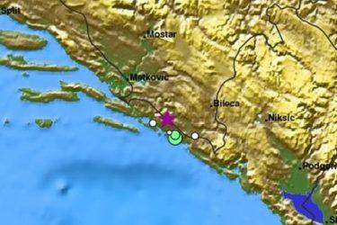 Нови земљотрес потресао Херцеговину