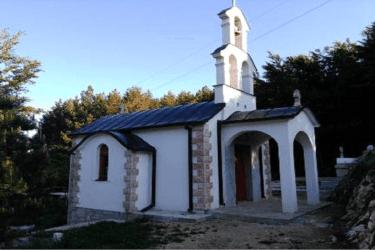 Заборани, 5. јул – Освештање цркве Светих Косовских мученика
