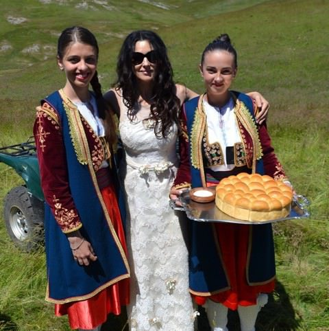 Моника Белучи на херцеговачком Тибету