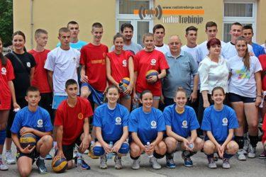 Вања Грбић промотер Љетне школе спорта РС у Требињу