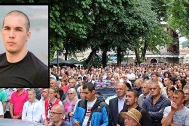 U subotu pet do 12: Trebinjci ponovo na ulicama traže istinu o ubistvu Marka Đerića