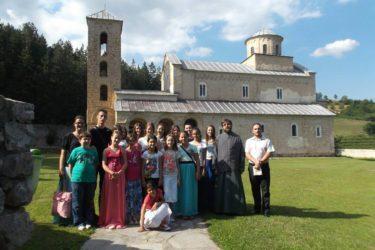 Билећани у посети манастиру Студеница