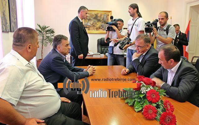 Радна субота у Требињу: Иванић и Вујановић желе заједничке пројекте
