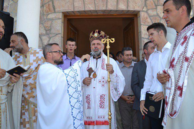 Владика Григорије освештао цркву у Оџаку код Невесиња
