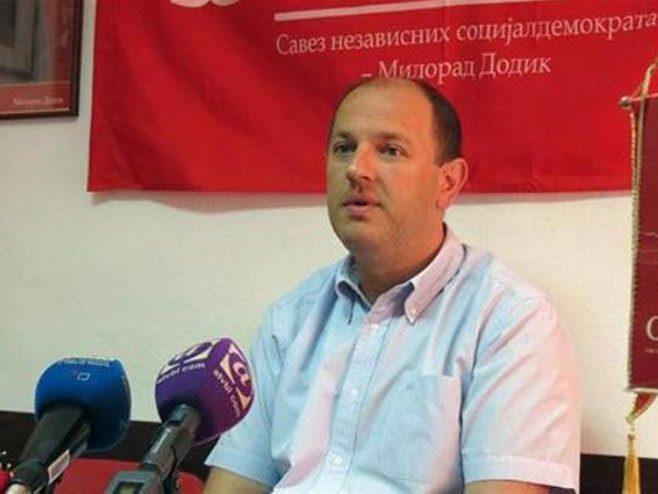 Лука Петровић изабран за генералног секретара СНСД-а