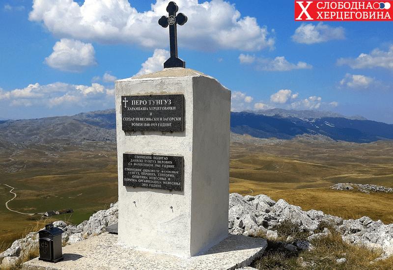 КРСТ НА МОРИНАМА: Вјечни помен на херцеговачког јунака Пера Тунгуза
