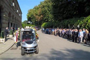 Академик Милорад Екмечић сахрањен у Алеји заслужних грађана