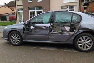 САОБРАЋАЈКА КОД ГОРАЖДА: Вукота Говедарица колима ударио у бандеру