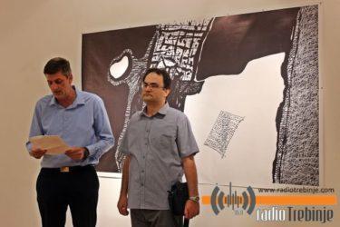 Izložba Veselina Brkovića u Trebinju: 25 godina diše kroz crtež