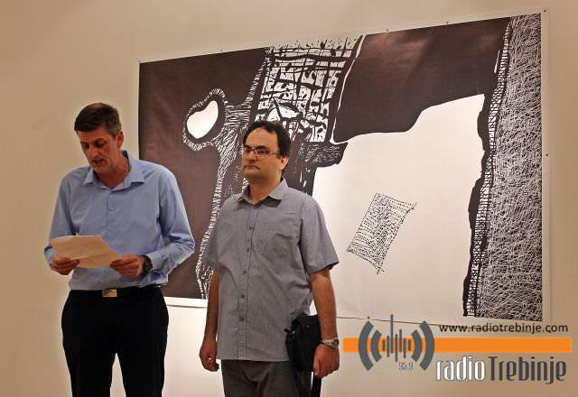 Изложба Веселина Брковића у Требињу: 25 година дише кроз цртеж