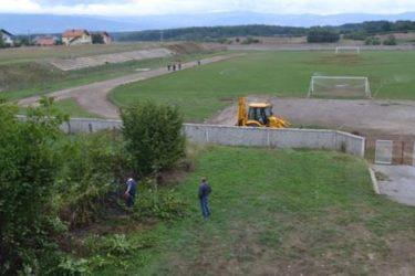 Почело уређење градског стадиона у Невесињу