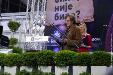 KUSTURICA NA OTVARANJU SAJMA KNJIGA: Pusta je mladost koja nije otkrila Čehova!