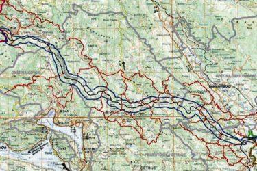 Јадранско-јонски аутопут: Требињске трасе нема на мапама