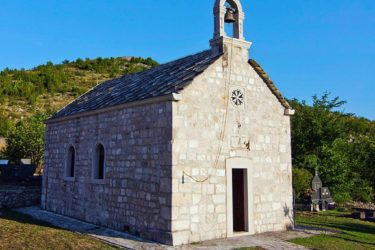 Црква Светог Преображења Господњег у Клепцима (Фото: Душан Мандрапа)
