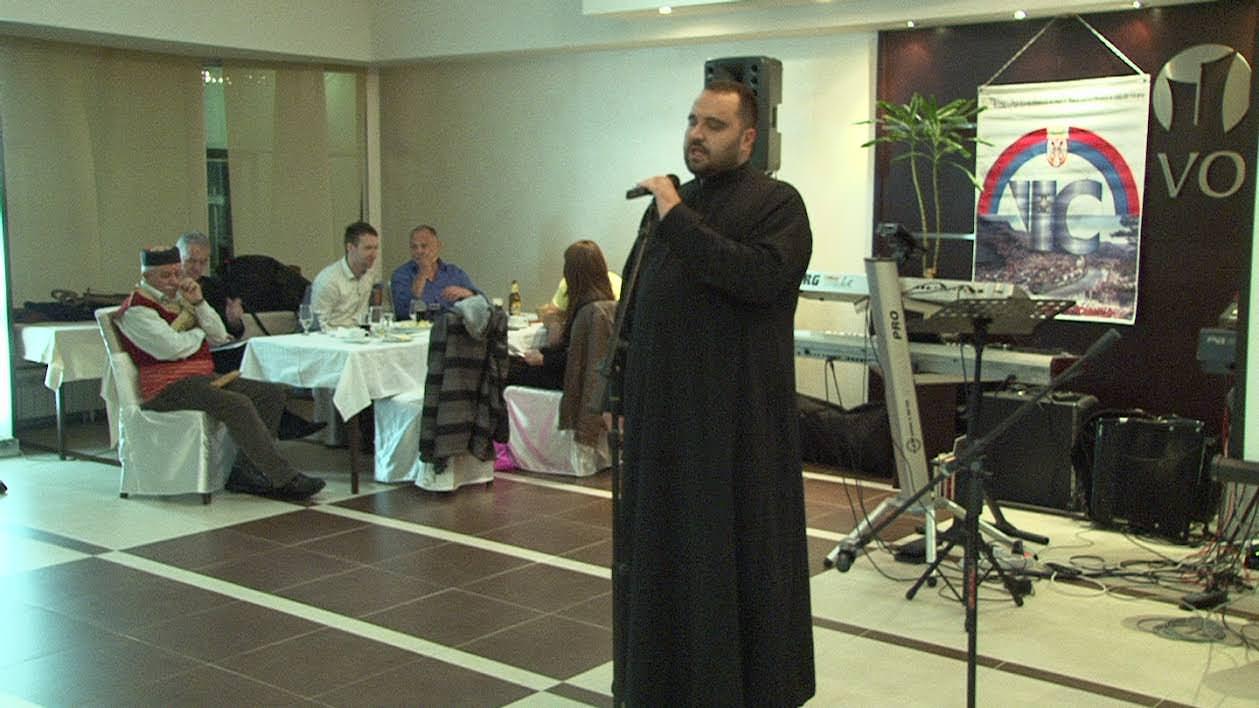 Поздрав из Коњица пренио свештеник Милан Бужанин