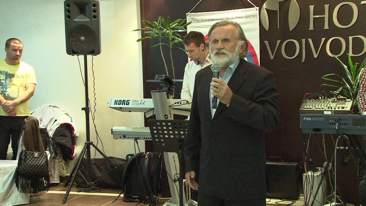 Протојереј Лазар Манигода благословио вечеру с Богом стечену