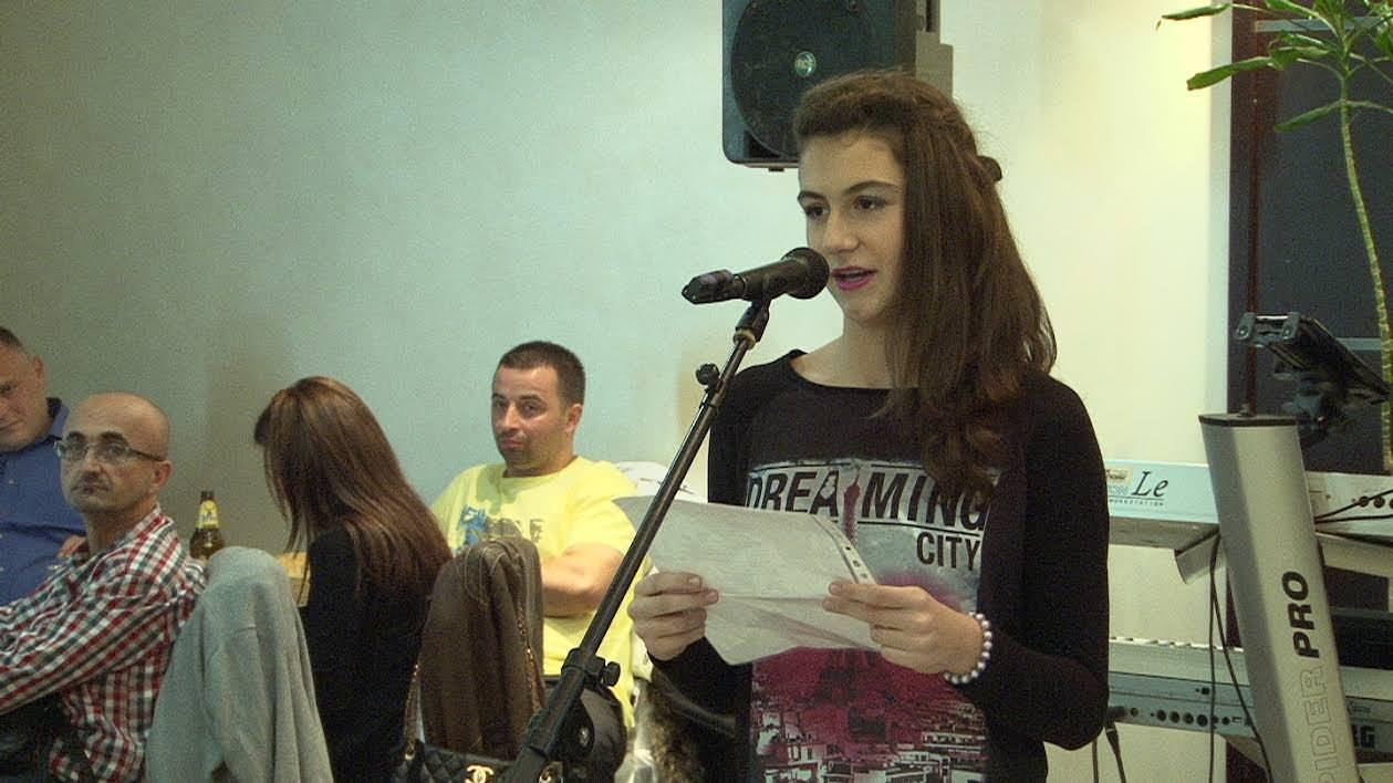 О њој ће се тек чути-рецитатор Анђела Поповић