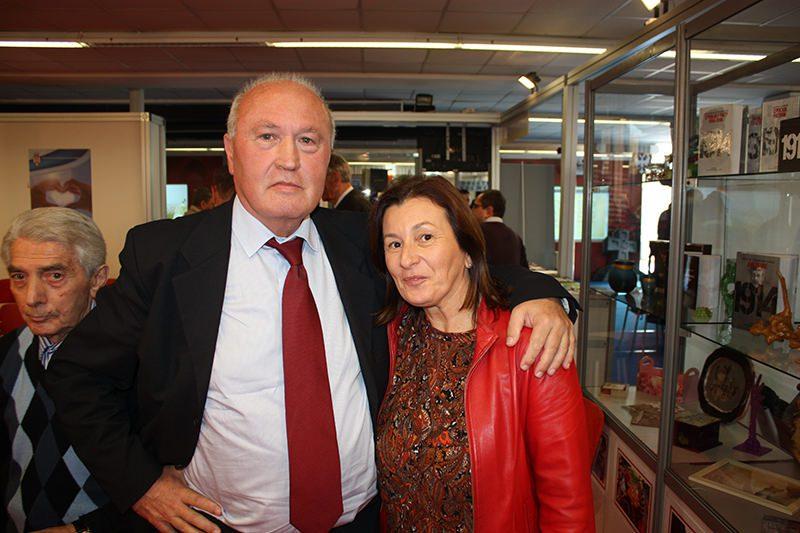 Светозар Црногорац и Татјана Булајић познати туристички делатник из Требиња