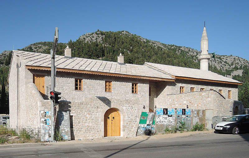 Зграда некадашњег усташког логора у Стоцу