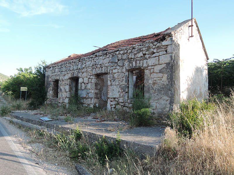Некадашња кућа Черовића у Драговиљу