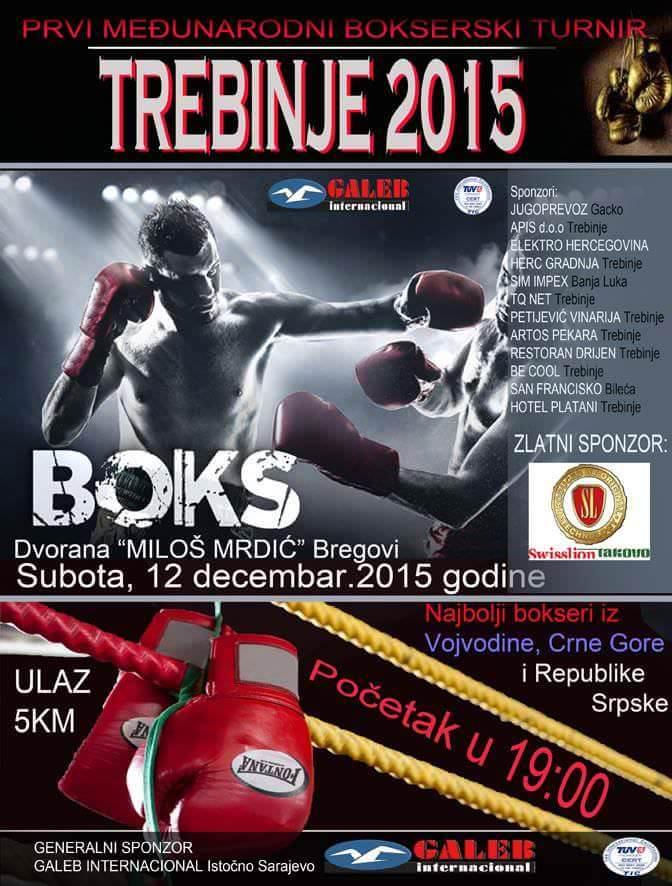 ЈУБИЛЕЈ ЛЕОТАРА: Боксерски турнир Требиње 2015