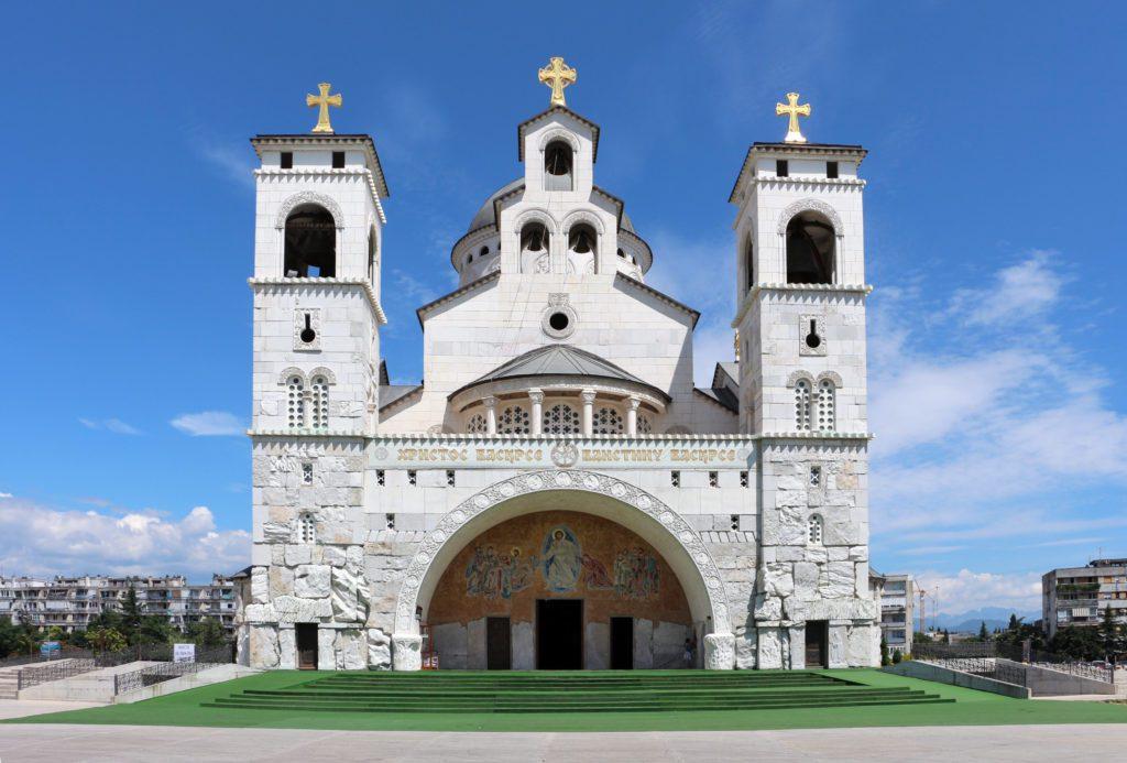 Podgorica,_cattedrale_della_resurrezione_di_cristo,_esterno_01