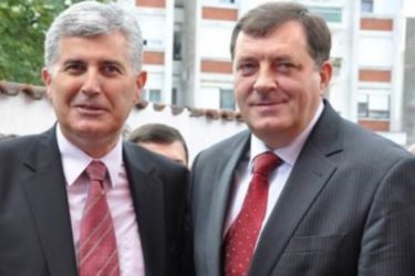 У Требињу се састали Додик и Човић