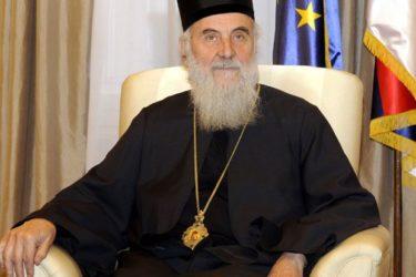 Патријарх Иринеј: Не видим ништа рђаво у папиној жељи да посјети Србију