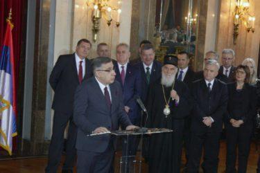 СХ НА ПРИЈЕМУ У СТАРОМ ДВОРУ: Срби су кроз вијекове научили да без државе нема слободе (ФОТО)