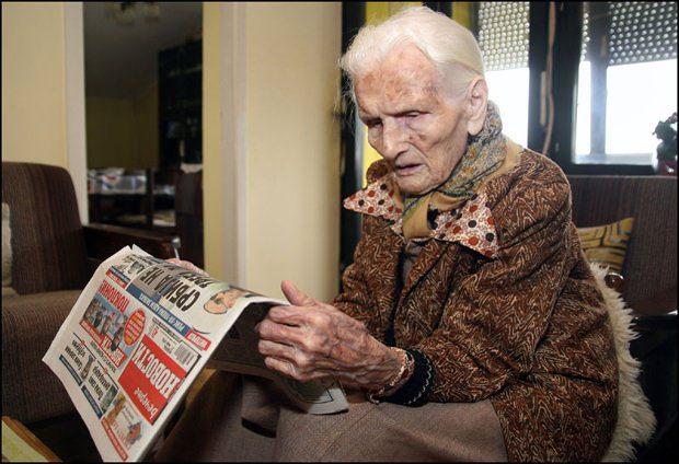 КАФА, ЛОЗА И ЦИГАРЕТА: Херцеговка из Зрењанина прославила 101. рођендан