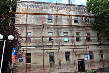 ТРЕБИЊЕ: Реконструкција фасаде на Центру за информисање и образовање